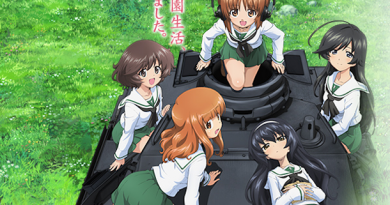 Cartel de Girls Under Panzer