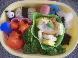 Bento and Fried Egg-- who knew!?