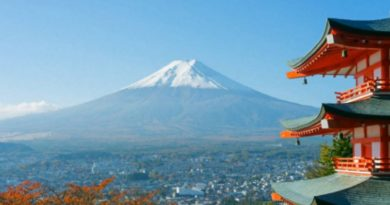 Los volcanes en Japón