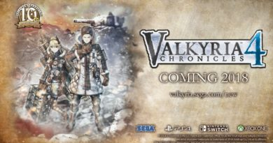 Valkyria Chronicles 4 cada vez más cerca