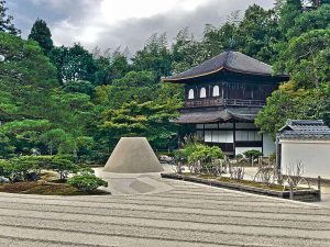 templo kioto japon ginkakuji