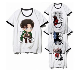 camiseta attack on titans aliexpress