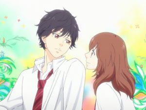 Ao Haru Ride es otro de los animes de amor