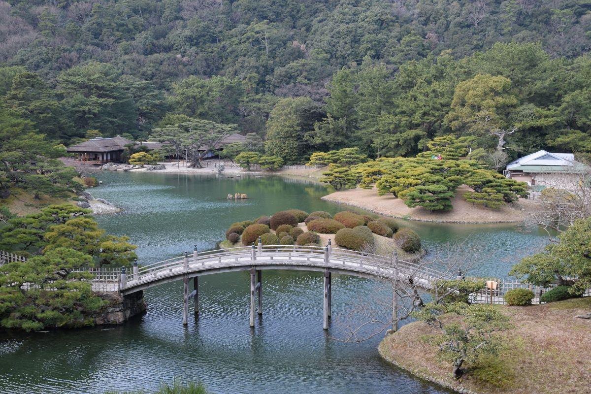 Jardines japoneses Ritsurin